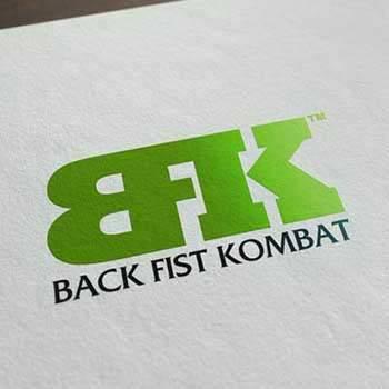 Back Fist Kombat - Realizzazione Logo
