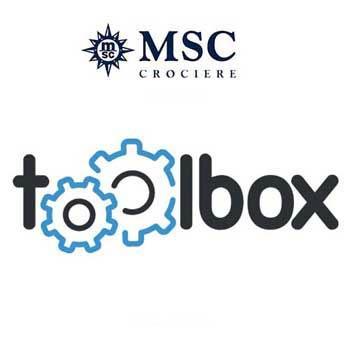 Web Agency Torino - Quatio - per MSC CROCIERE ha sviluppato il sito web TOOLBOX