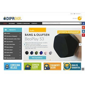 DIPASHOP - E-Commerce in MAGENTO